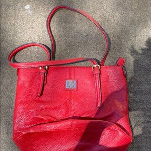 Red Anne Klein bag